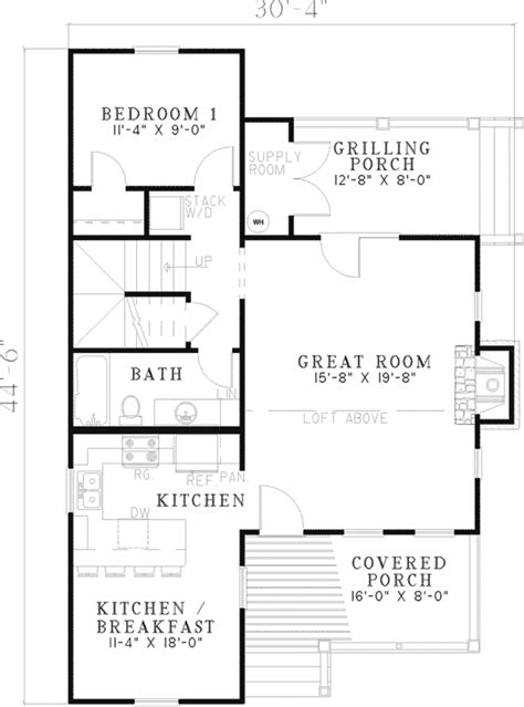 mil house plans bevo mill rustic cottage home plan 055d 0430 house plans