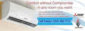 Mitsubishi Electric Ductless Cooling And Heating Systems Reviews Mitsubishi Ductless Heating And Air Conditioning Systems