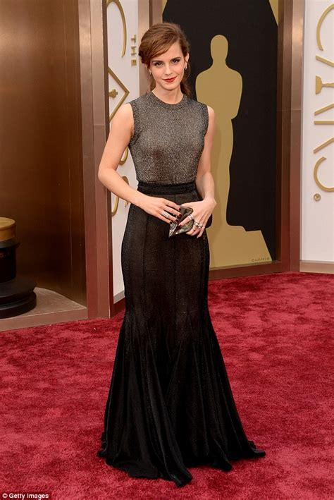 emma watson red carpet dresses emma watson brings a touch of magic to oscars red carpet