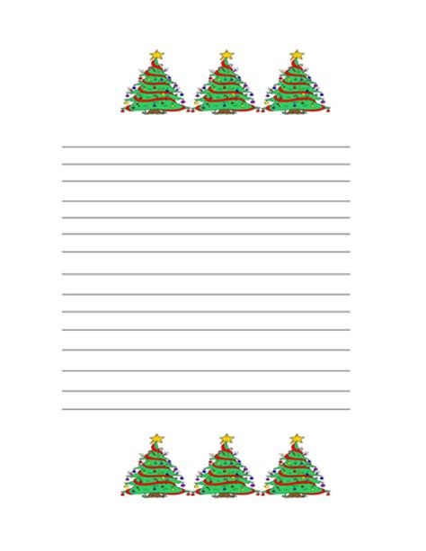 christmas writing paper by teachersgem teaching