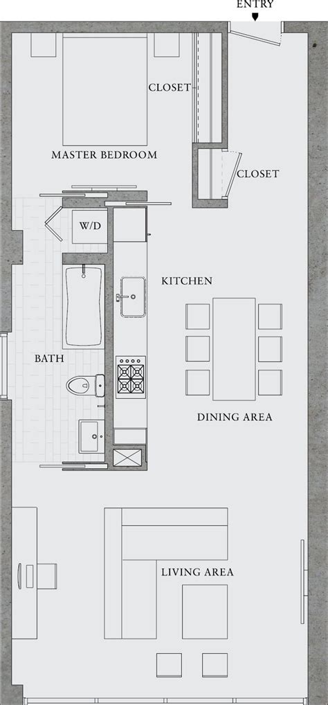 small studio floor plans best 25 small apartment plans ideas on pinterest