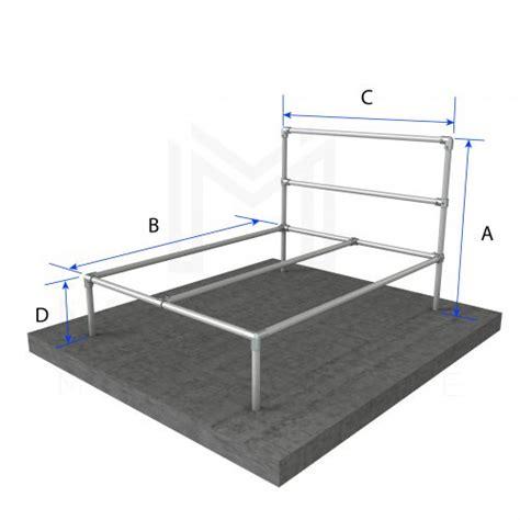 Basic Bed Frames Diy Modular Bed Frame Kits Modular Metal Store