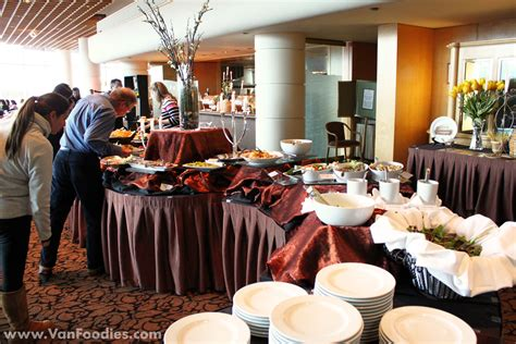 pan pacific vancouver buffet italian opera buffet at cafe pacifica vanfoodies