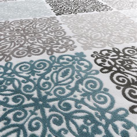 grauer teppich mit grau weiss teppich nzcen