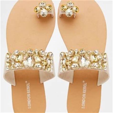Klip Flatshoes rebel klip toe post flat from asos