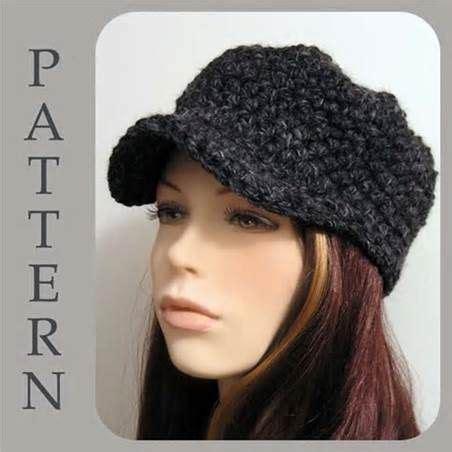 fashion forward knit hat free pattern from red heart yarns crochet newsboy hat pattern free free easy crochet