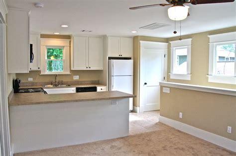 Garage apartment entry / kitchen / living room