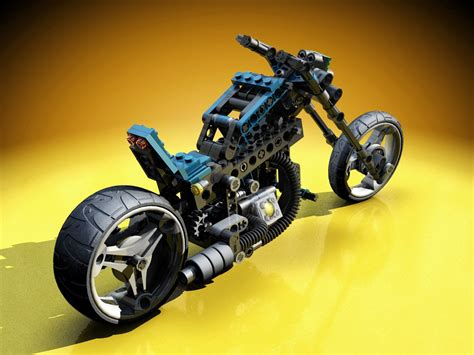 Lego Technik Motorrad by Lego Technic Motorcycles Mag Wheel Master Rendered By Warag