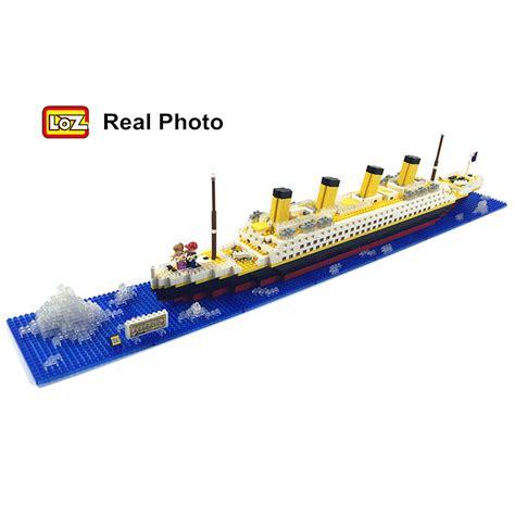 titanic ship or boat aliexpress buy loz rms titanic ship 3d building