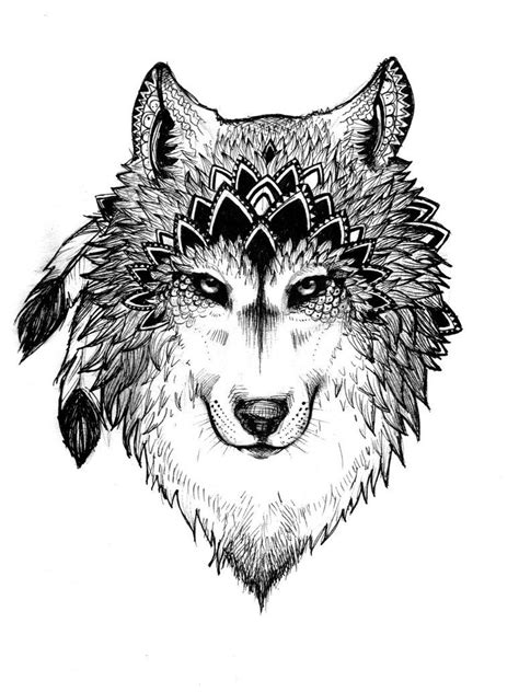 tattoo project project wolf by zuzupsychoheroine o