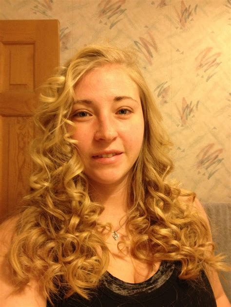 curling wand on medium layered hair layered haircuts with wand quot the wand quot by remington