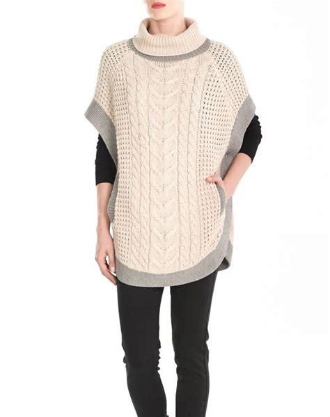 jersey poncho pattern poncho de mujer sfera mujer chaquetas de punto y