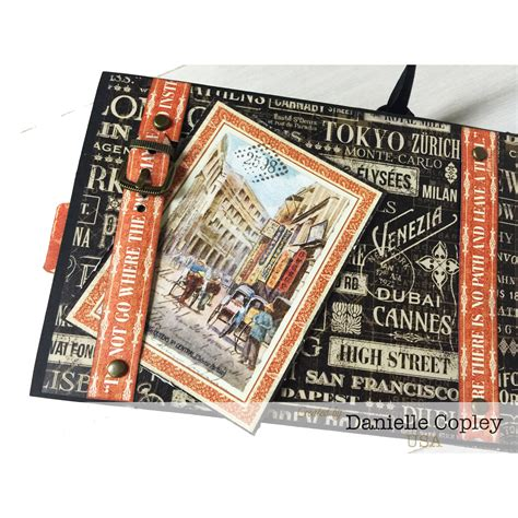 scrapbook maven tutorial cityscapes mini album tutorial scrapbook maven