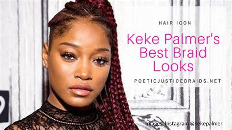 keke braids style hair icon keke palmer braids that killed it on instagram