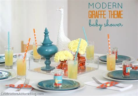 giraffe themed baby shower ideas celebrations at home