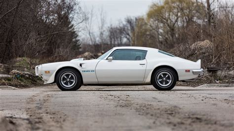 Holman Pontiac by 1973 Pontiac Trans Am Unrestored With 13 050 Lot