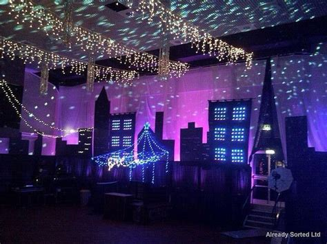 themed party lights possible homecoming theme empire state of mind prom
