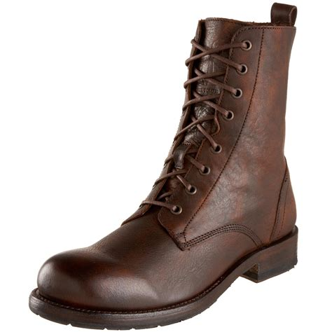 mens lace up boot frye mens rogan lace up boot in brown for maple