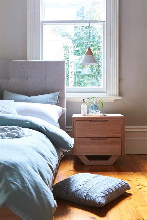 barkley bed frame wupholstered bedhead natural bedroom