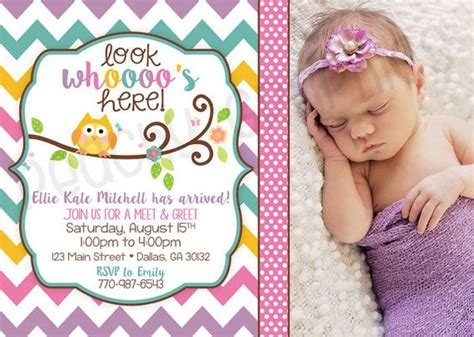 Meet And Greet Baby Shower Ideas by Printable New Baby Announcement Meet And Greet Sip