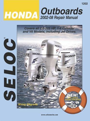 Hondaoutboard Manuals Service Shop And Repair Manual