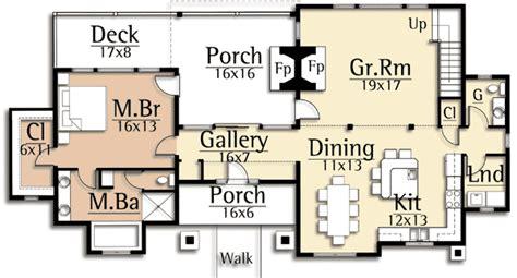 Bridgehouse Garage by Lodge Home Plan With Second Floor Bridge 18718ck 1st