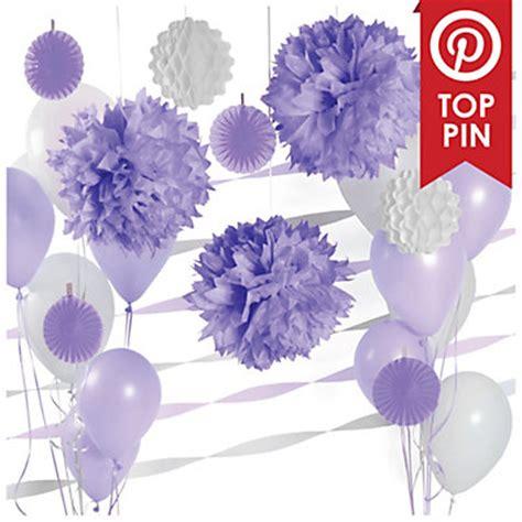 Purple Baby Shower Centerpieces Ideas by Purple Baby Shower Decorations Favors Ideas