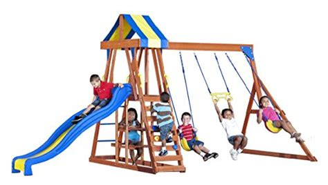 Backyard Discovery Yukon Iii Cedar Swing Set Backyard Discovery Yukon Iii Swing Set 2017 2018 Best