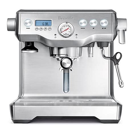 bed bath and beyond breville buy breville 174 dual boiler bes900xl espresso machine from