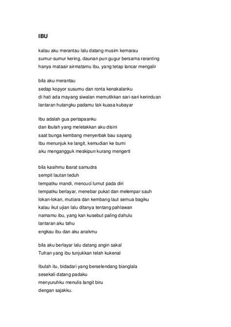 contoh membuat puisi tentang ibu contoh puisi pendek tentang ibu contoh z