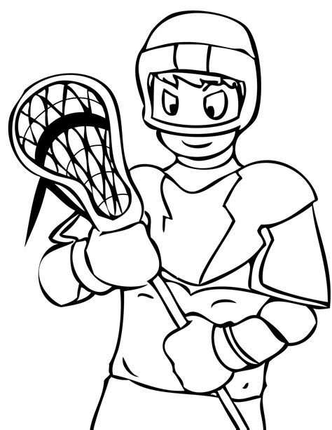 sports coloring sheets lacrosse coloring sheets print this page favorite sports
