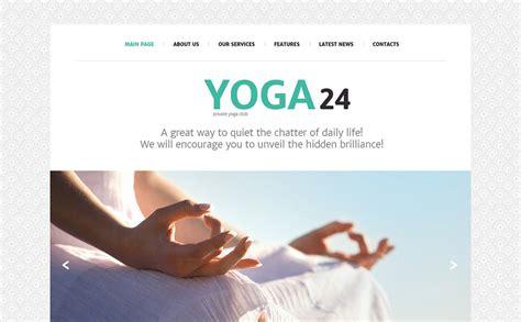 bootstrap templates for yoga yoga studio joomla template 49215