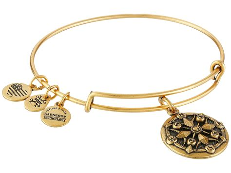 alex and ani bracelet alex and ani compass ii bracelet in metallic lyst