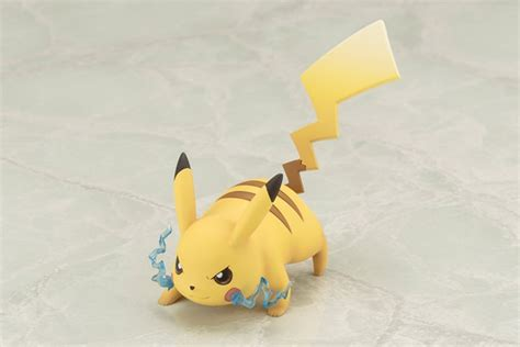 Figure Pikacu Pikachu Isi 4 crunchyroll kotobukiya previews quot pocket monsters quot artfx j figure with pikachu