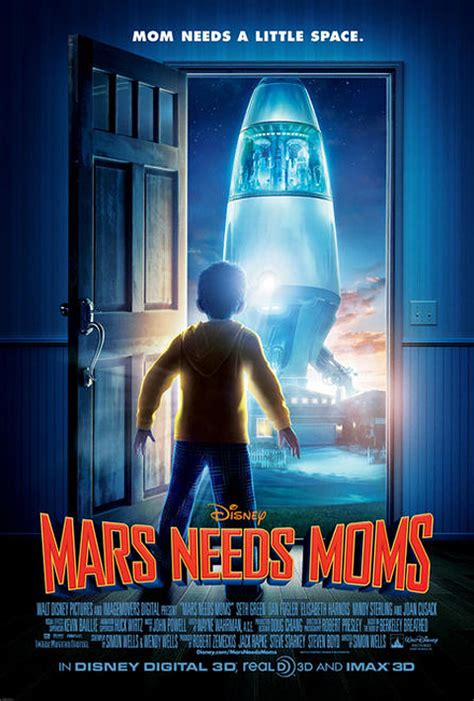 Film Disney Mars | movie poster for disney s animated film mars needs moms