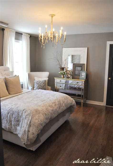 our gray guest bedroom and a source list by dear lillie in the grey and white look