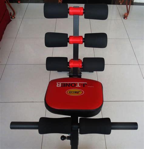 Alat Fitnes J Toner alat fitnes multi fungsi 10 in 1 j toner six pack care jaco lejel