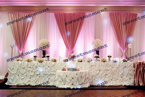 Pariss Pink B Day Swag by Wedding Curtains And Backdrops Curtain Menzilperde Net