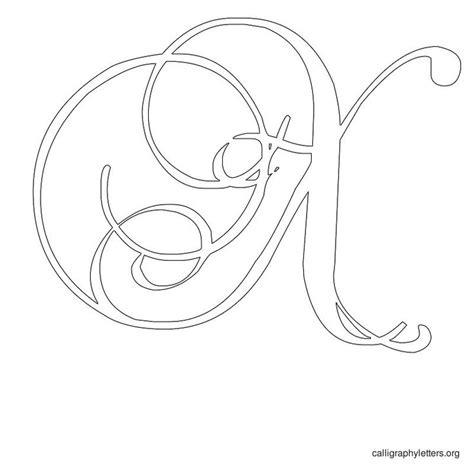 printable calligraphy stencils printable calligraphy letter stencils calligraphy