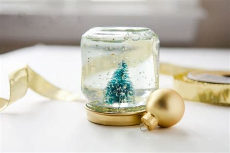 crafts snow globes glass jar crafts 17 inspirations