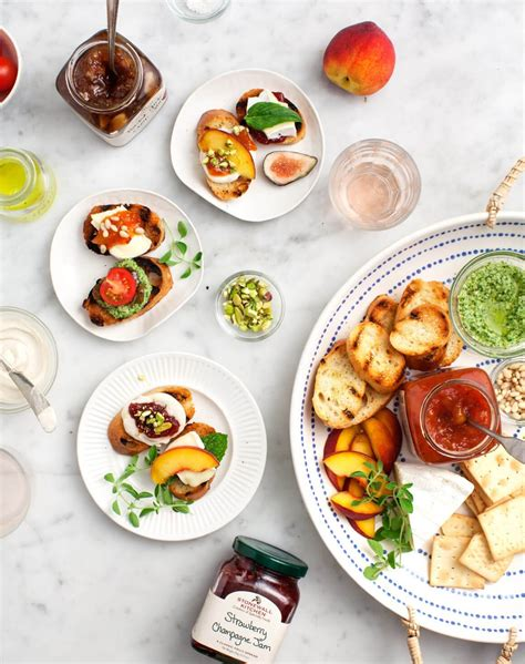crostini bar toppings mix match summer crostini bar recipe love and lemons
