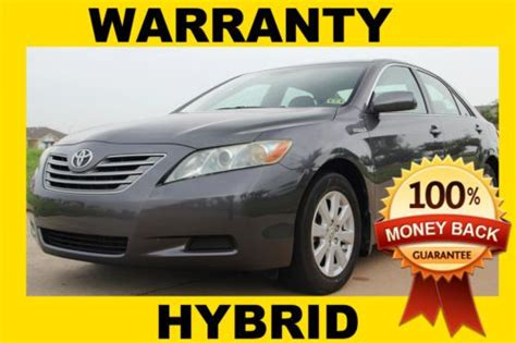 2007 Toyota Camry Hybrid Warranty Find Used 2007 Toyota Camry Hybrid Clean Tx Title Rust