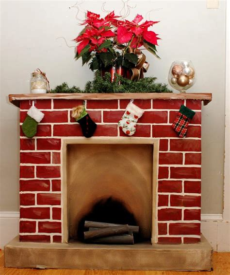 Cardboard Fireplace Decoration by Decorative Cardboard Fireplace Home Fireplaces Firepits