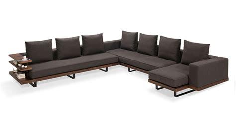 sofa wrapping storage faruk malhan s gazel sofa features modern wrap around