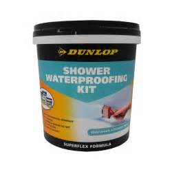 dunlop shower waterproofing kit bunnings warehouse