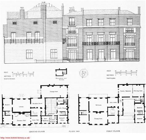 vanderbilt housing floor plans hden house 61 green st london england owned by