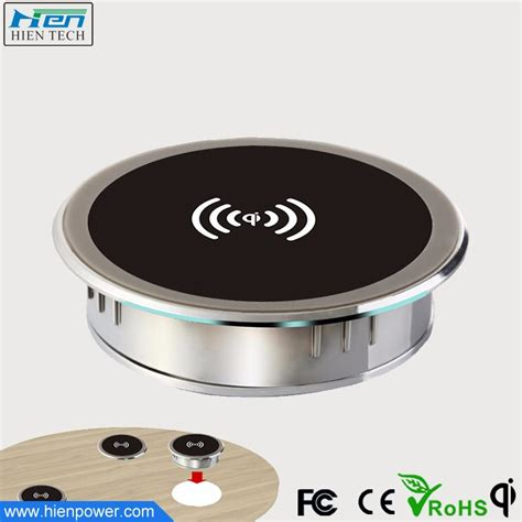 embedded in furniture inductive charger wireless charging