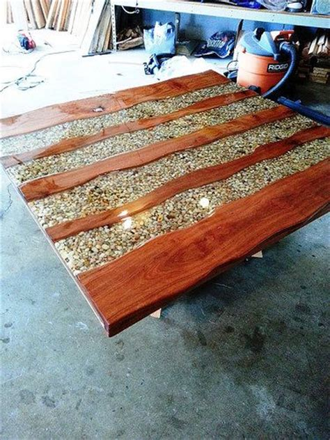 how to make a river table this would make an awesome outdoor table river bend table