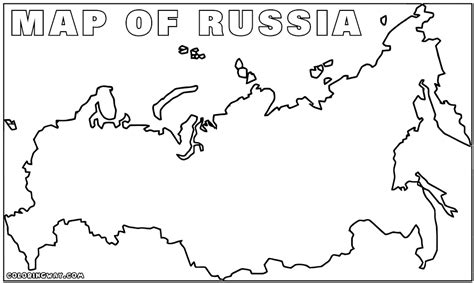 Coloring Page Map Of Russia | russia coloring pages coloring pages to download and print