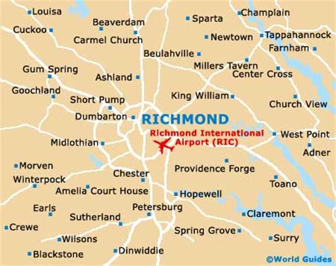 map of richmond va map of richmond va and surrounding areas swimnova